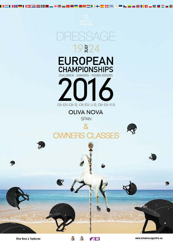 FEI European Dressage Championship for Children, Juniors & Young Riders 2016