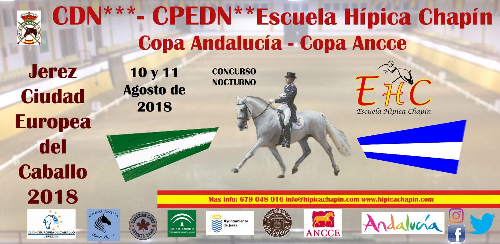 CDN3* nocturno · Copa ANCCE & PSCJ | Chapín