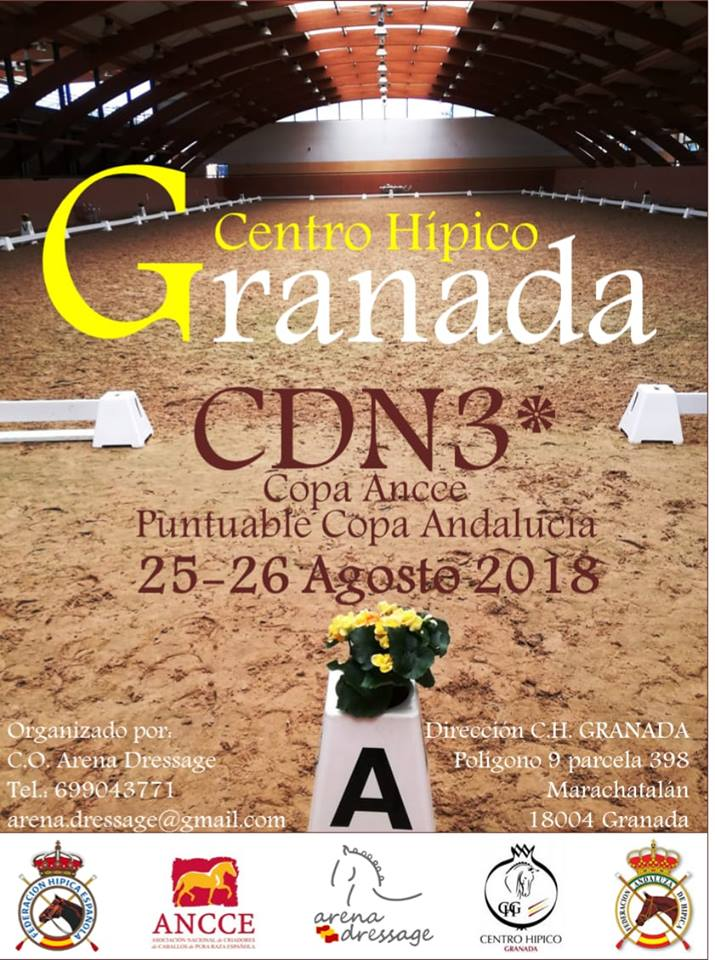 CDN3* · Copa ANCCE | CH Granada | Arena Dressage