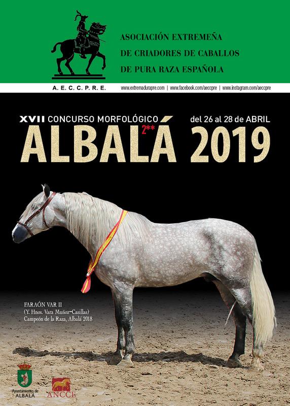 Concurso Morfológico 2* Albalá · Studbook